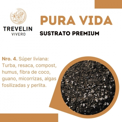Sustrato Premium Nro 4 - Pura Vida