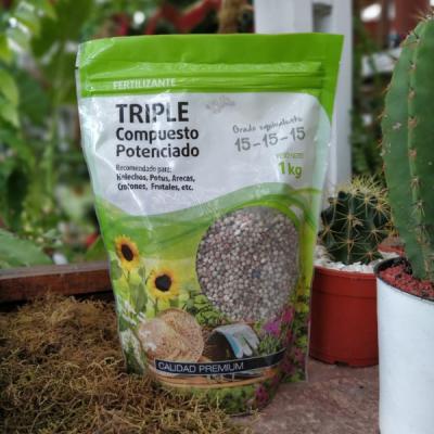 Fertilizante Triple Compuesto Potenciado