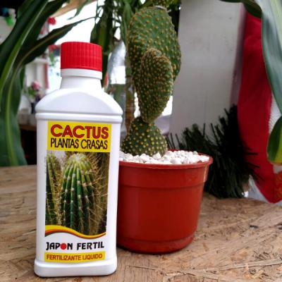 Fertilizante Para Cactus Y Suculentas - Japón Fértil (líquido)