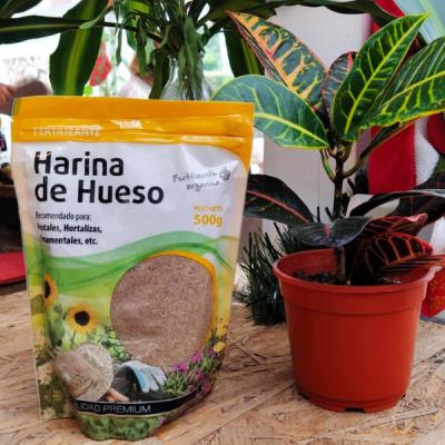 Harina De Hueso - Fertilizante Orgánico