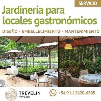 Jardinería Para Locales Gastronómicos