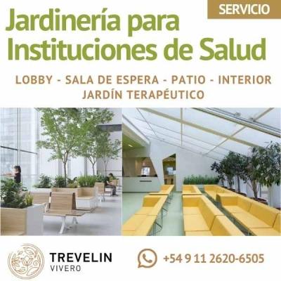 Jardinería Para Instituciones De Salud