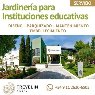 Jardinería Para Instituciones Educativas